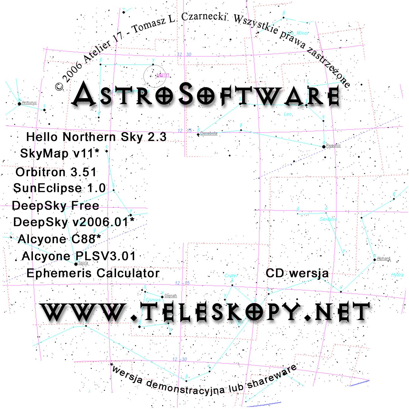 CD Cover – Astrosoftware