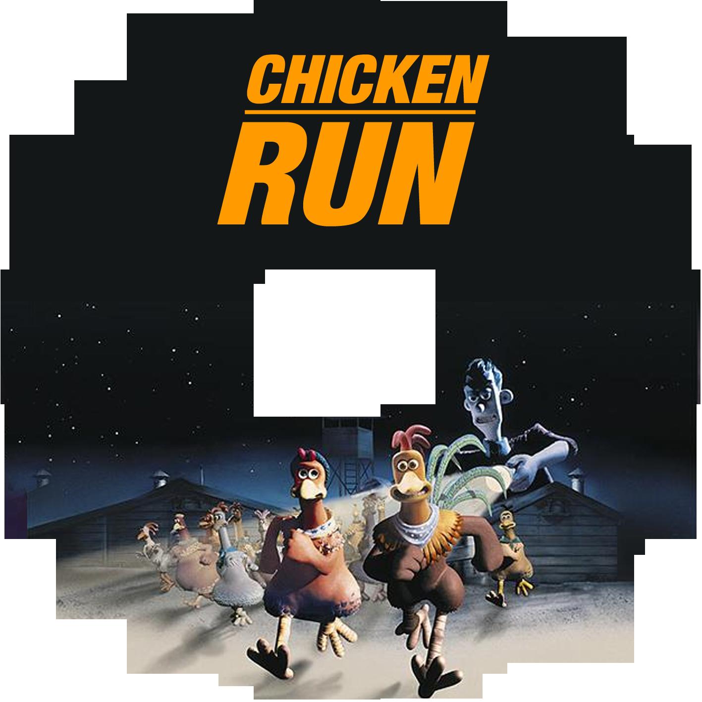 DVD Cover – Chicken Run