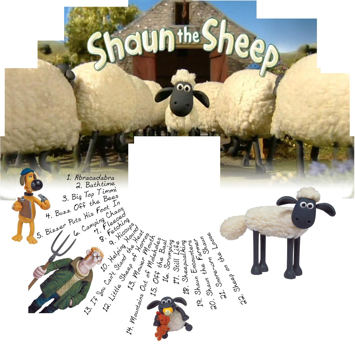 DVD Cover – Shaun the Sheep